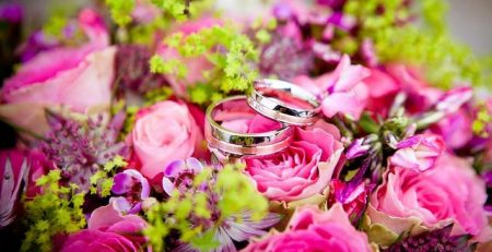 הזמנות לחתונה פרח